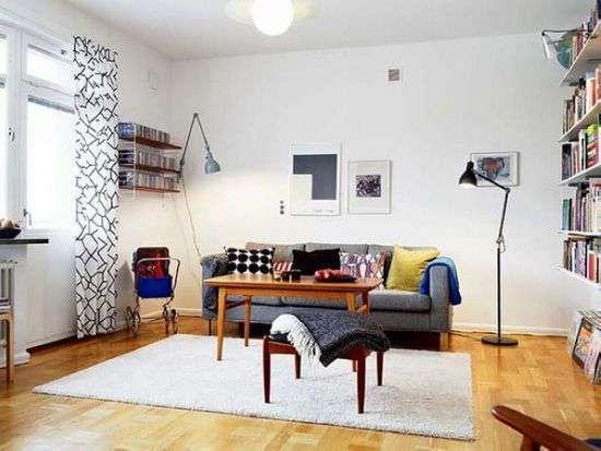 英国老公寓装修出现代简约风 白色经典色