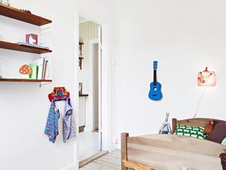 67平宜家清新小公寓欣赏卧室陈设