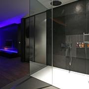 现代风格设计卧室卫生间效果图