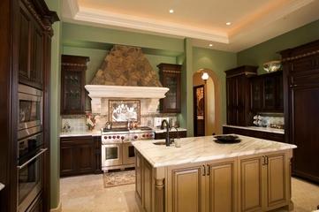 欧式风格厨房设计效果图
