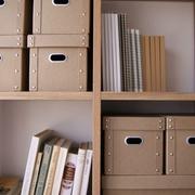 白色日式风格两居欣赏书房