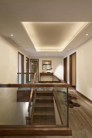 简约三居样板房欣赏楼梯间