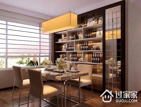 6款餐厅背景墙设计案例 小空间的美丽