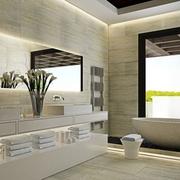 奢华现代别墅卫生间