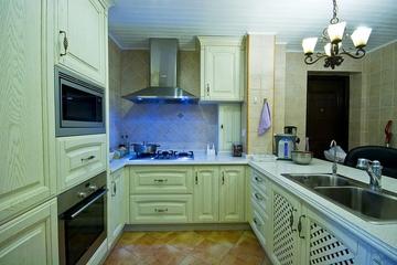 115平混搭三室两厅欣赏厨房