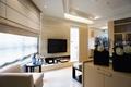 现代简约公寓客厅背景墙