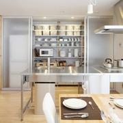 86平日式风格复式楼欣赏厨房陈设
