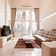 124平日式风格住宅欣赏客厅全景