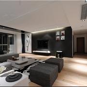 中式家居风格简约客厅