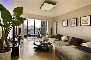 简约三室两厅住宅案例欣赏
