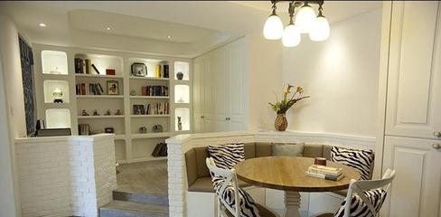 白色地中海家居住宅欣赏书房设计
