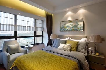 现代风格装修套图卧室