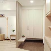 白色清爽日式风格欣赏过道陈设
