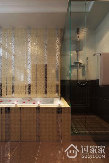 新古典大四居住宅欣赏卫生间吊顶设计