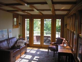 美式别墅一楼起居室