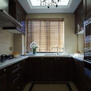 古典与现代结合的欧式风格厨房