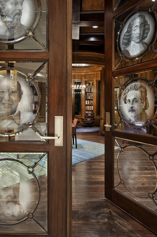 欧式奢华风格套图赏析室内门