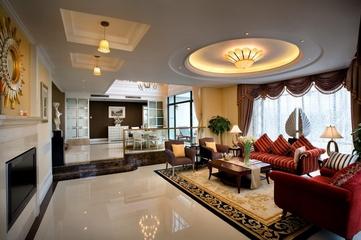 东南亚风住宅欣赏客厅陈设