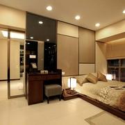 现代日式风卧室