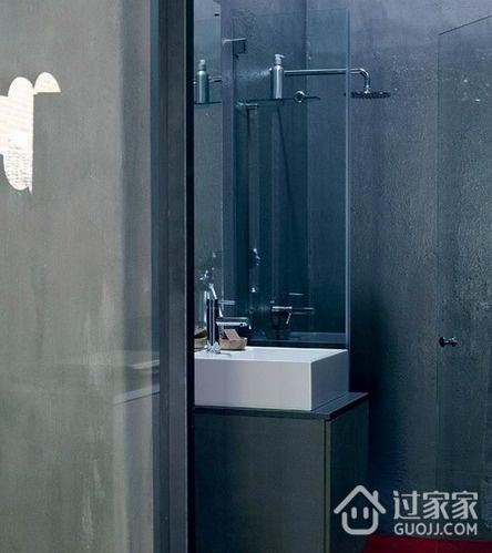 色调经典简约住宅欣赏洗手间