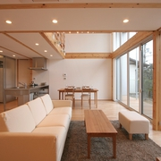 118平日式清爽别墅欣赏客厅设计