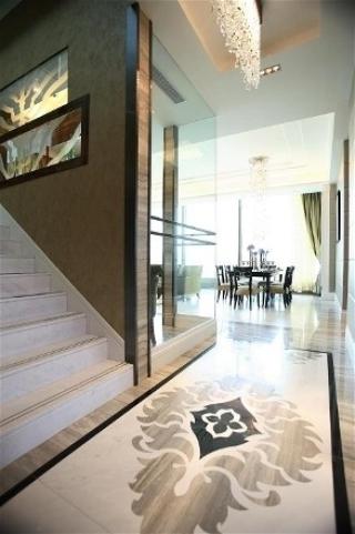 新古典三居室案例设计欣赏过道吊顶