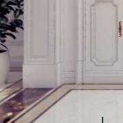 欧式风格别墅效果图地面