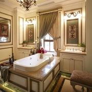 美式风格住宅装修效果套图卫生间