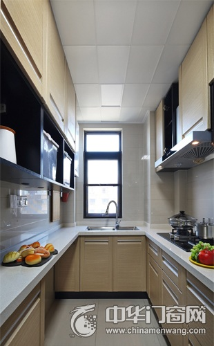 現代風格廚房窗戶效果圖