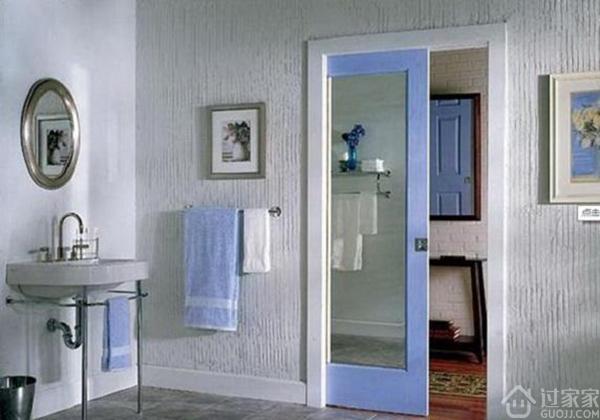太潮了,卫生间门都可以这样装,赶紧收藏起来!