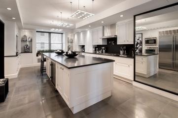 140平奢华新古典住宅欣赏厨房