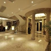 欧式风格复式楼客厅