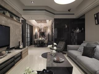 新古典奢华样板房欣赏客厅