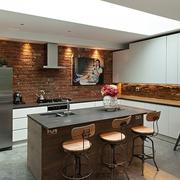 现代设计效果厨房