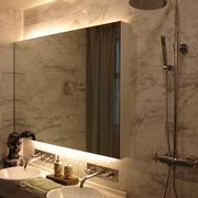 新古典复式设洗手间镜子