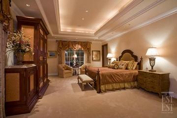 美式奢华别墅装饰赏析卧室