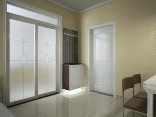 简约舒适效果案例住宅欣赏卧室局部