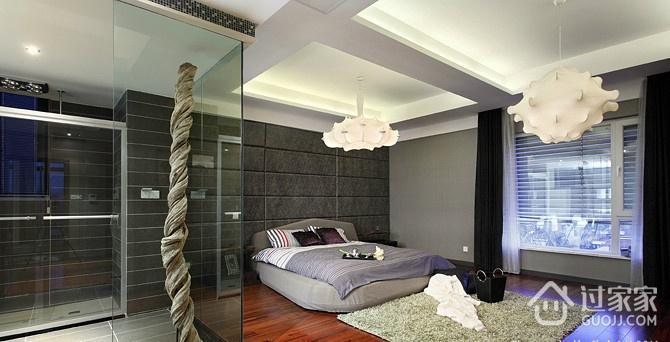 现代风格卧室吊顶效果图