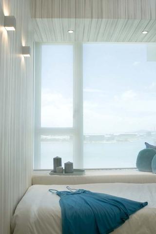 碧海蓝天现代家居欣赏卧室飘窗