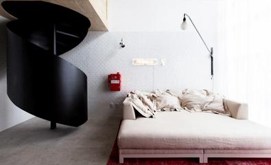 超强收纳功能空间欣赏卧室