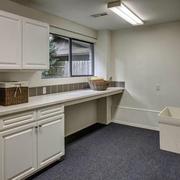 现代住宅装修效果图洗衣房