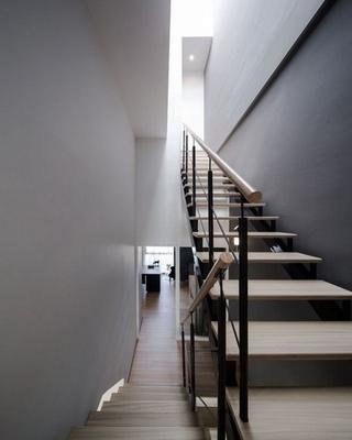 79平现代风复式楼欣赏楼梯间