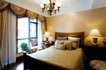 美式风格别墅卧室装饰效果图