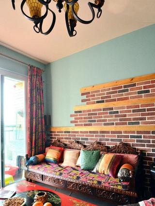 多彩异域混搭住宅欣赏客厅