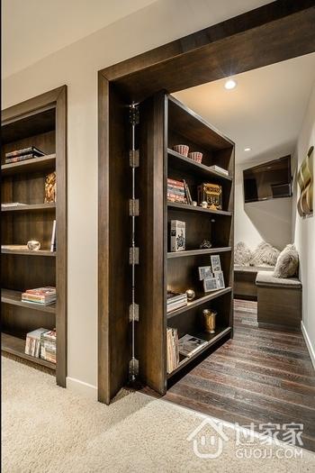 现代舒适住宅欣赏书房设计
