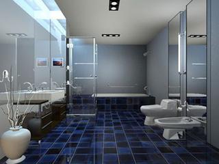 四个巧妙的方法,无限放大你的小户型卫生间孔空间!