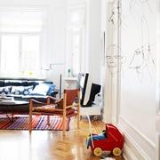 复古创意宜家风格欣赏客厅效果