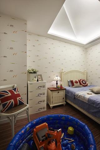 86平地中海温馨复式欣赏儿童房设计