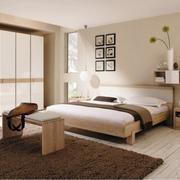 现代风格别墅卧室床品