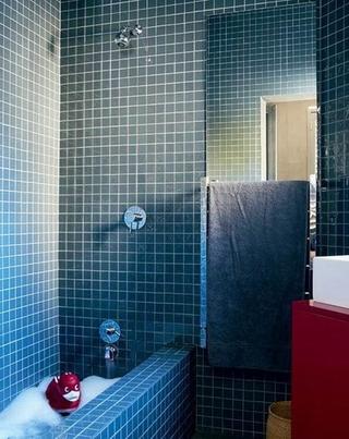 色调经典简约住宅欣赏卫生间陈设